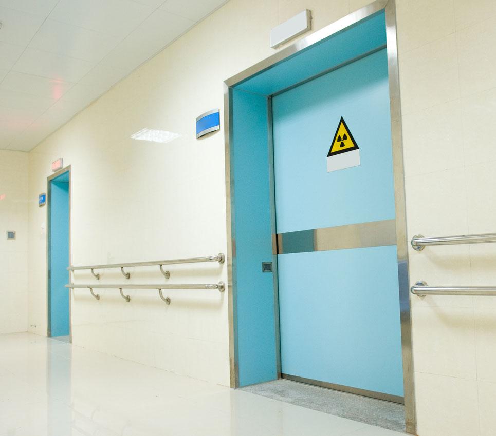 SInalização, com instrumentos padronizados para orientar indivíduos em situações de exposição a radiações ionizantes